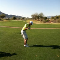 Photo taken at Aguila Golf Course by Sam V. on 3/17/2013