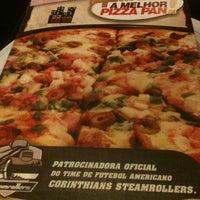 Photo taken at Super Pizza Pan by Rodrigo P. on 5/1/2013