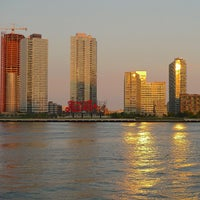 Photo taken at Long Island City, NY by Eliane v. on 10/1/2012