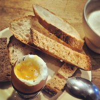 Photo taken at Le Pain Quotidien by Eliane v. on 1/2/2013