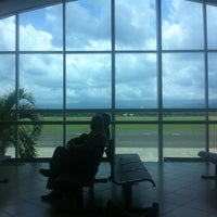 Photo taken at Cibao International Airport (STI) by Adriana-Lucia C. on 6/11/2013