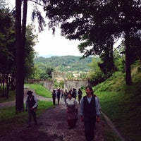 Photo taken at Tarcento by Davide R. on 8/18/2014