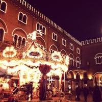 Photo taken at Piazza dei Signori by Davide R. on 12/12/2012