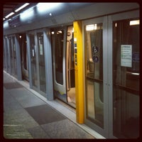 Photo taken at Metro Lingotto (M1) by Gianluca F. on 10/10/2012