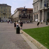 Photo taken at Piazza Carlo Alberto by Gianluca F. on 7/7/2013
