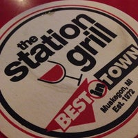Photo taken at The Station Grill by Richard W. on 10/3/2013