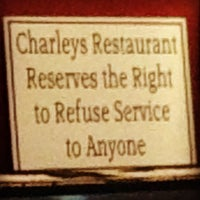 Photo taken at Charley's Restaurant & Saloon by Andrea P. on 12/2/2012