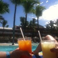 Photo taken at Pool Iberostar Punta Cana & Dominicana by Rubén V. on 2/4/2013