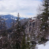 Photo taken at Dolomitenhütte by Andreas B. on 3/28/2014