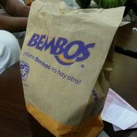 Photo taken at Bembos by Bear P. on 11/9/2012