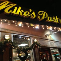 Photo taken at Mike's Pastry by Ben H. on 12/9/2012