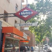 Photo taken at Metro Quintana by Alberto A. on 7/15/2018