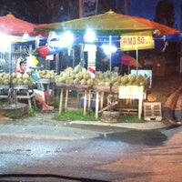 Photo taken at Durian Stall by Aswaniy A. on 11/27/2012