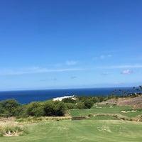 Photo taken at Mauna Kea Golf Course by Tomotaka k. on 9/25/2016
