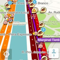 Photo taken at Parado no trânsito da Marginal by Joaquin P. on 9/12/2014