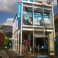 Photo taken at Columbia Sportswear 渋谷店 by RK T. on 9/29/2013