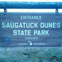 Photo taken at Saugatuck Dunes State Park by Amie C. on 11/10/2012