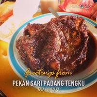 Photo taken at Pekan Sari Padang Tengku by Fairus Z. on 2/10/2013