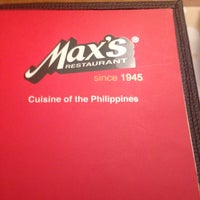 Photo taken at Max's Restaurant by Paul J. on 6/11/2014