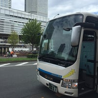 Photo taken at 大阪バス 名古屋駅停留所 by みなたか@大阪港鷹党 on 8/27/2016