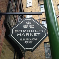 Photo taken at Borough Market by BolCat on 5/25/2013