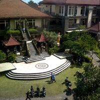 Photo taken at Sekolah Tinggi Pariwisata Bali Internasional (STPBI) by desy w. on 1/29/2013