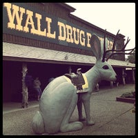 Photo taken at Wall Drug by Ethan P. on 7/14/2013