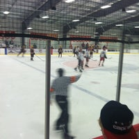 Photo taken at Prince William Ice Center by Nick K. on 1/19/2013