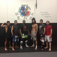Photo taken at Rodrigo Pinheiro Brazillian Jiu-Jitsu by Erika S. on 8/7/2013