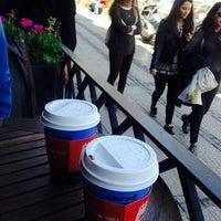 Photo taken at Caffé Nero by Büşra A. on 4/12/2015
