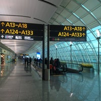 Photo taken at Guangzhou Baiyun International Airport (CAN) by Jacky W. on 12/30/2012