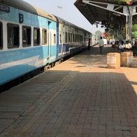 Photo taken at Margao Railway Station by Rajat G. on 2/11/2017