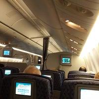Photo taken at Flight AA 931 MIA-EZE by Gustavo D. on 9/6/2013