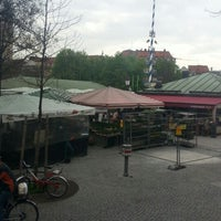 Photo taken at Viktualienmarkt by Olli P. on 4/27/2013