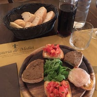 Photo taken at Osteria de' Medici by Marcello M. on 7/26/2016