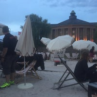 Photo taken at Stadtstrand by Marcello M. on 6/15/2017