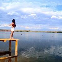 Photo taken at Актюбинское Море / Aktobe River by Yulches G. on 8/7/2014