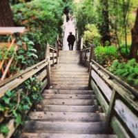 Снимок сделан в Filbert Steps пользователем Gregory D. 2/6/2013