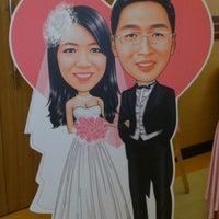 Photo taken at 海中鮮婚宴會館 by 立誠 簡. on 3/3/2013