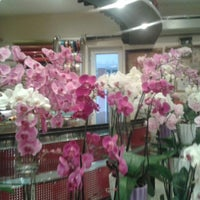 Photo taken at Kubra International Flowers Shop by Gülden on 7/25/2013