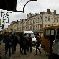 """9/25/2012에 Юра Х.님이 Остановка """"ул. Тухачевского""""에서 찍은 사진"""