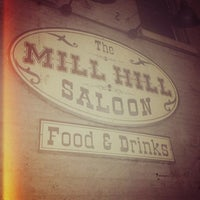 Photo taken at Mill Hill Saloon by Joseph M. E. on 2/22/2013