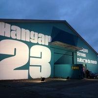 Photo taken at Hangar 23 by Marylène on 9/19/2013