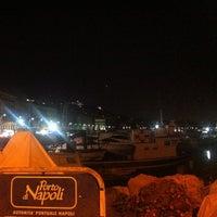 Photo taken at Molo di Sopraflutto Sannazzaro (Molo Luise) | Porto di Napoli by Виктория А. on 8/17/2013