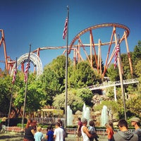 Photo taken at Six Flags Magic Mountain by Michelangelo R. on 3/30/2013