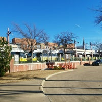 Photo taken at Downtown Plano Station (DART Rail) by William R. on 1/16/2017