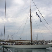 Photo taken at Voiles d'Antibes by Sabrina K. on 6/4/2014