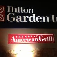 Photo taken at Hilton Garden Inn by Christopher F. on 12/5/2012