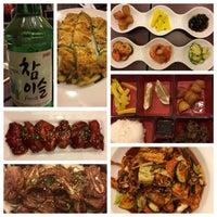 Photo taken at Riverside Korean Restaurant by Sandeep on 12/29/2016