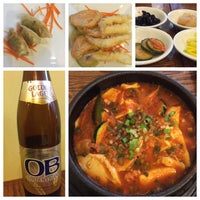 Photo taken at Riverside Korean Restaurant by Sandeep on 8/28/2015